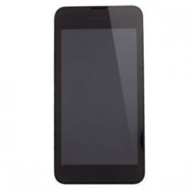 Pantalla Completa SIN Marco para Nokia Lumia 530 negra