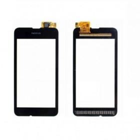 Pantalla Completa con Marco para Nokia Lumia 530 negra