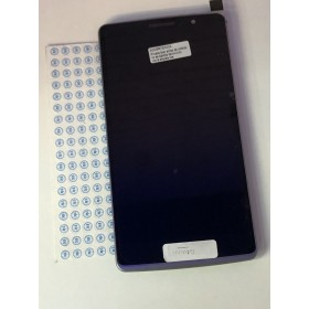 Ecrã completa com marco LG G4 H815 preta.