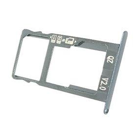 bandeja SIM/SD para BQ Aquaris X Pro blanca