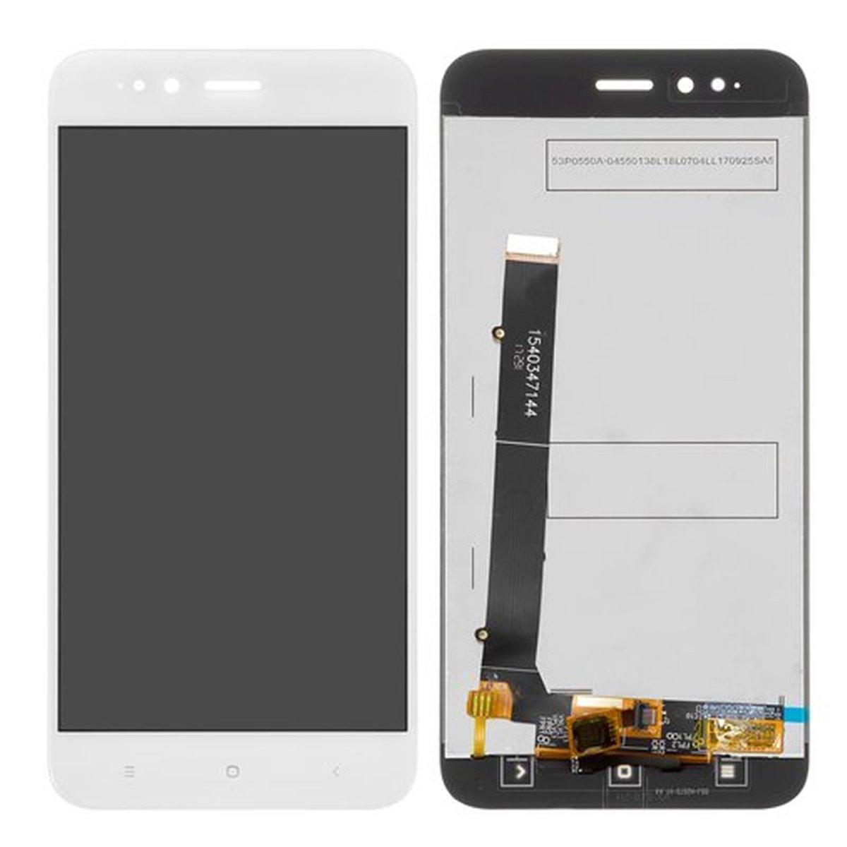 Pantalla completa (LCD/display + digitalizador/táctil) para Xiaomi Mi A1 / MI 5X, negra
