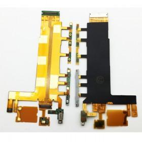 Flex principal con componentes para Sony Xperia Z3, D6603, D6643, D6653