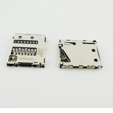 Conector, lector de tarjetas de memoria Micro SD Sony Xperia Z, Z1, L36H C6602, C6603