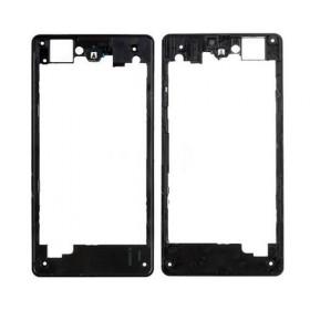 Carcasa central, para Sony Xperia Z1 Compact, Z1C, D5503, M51w negro