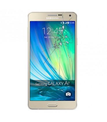 Reparacion pantalla Samsung A7 A700F DORADA