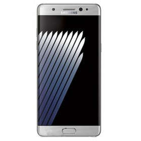 Ecrã completa com marco para Samsung Galaxy Note 7, -N93SM0F em cor Prateado ,ORIGINAL