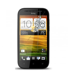 Reparacion pantalla HTC ONE SV C525E NEGRA