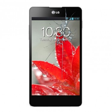 Reparacion pantalla LG OPTIMUS G E975 con marco