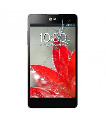 Reparacion pantalla LG OPTIMUS G E975 sin marco