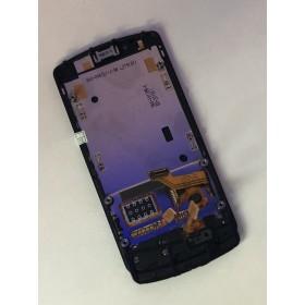 PANTALLA COMPLETA TACTIL + LCD NOKIA N700 BLANCA