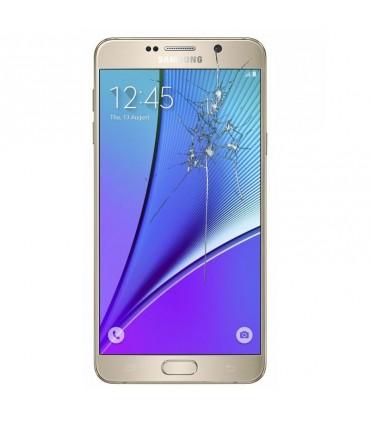 Reparacion pantalla Original Samsung Note5 SM-920I DORADA