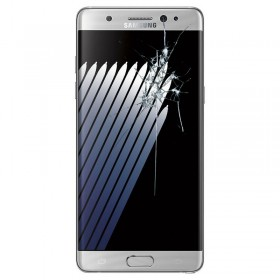 Reparaçao Ecrã Original Samsung NOTE 7 N93SM0F PLATA