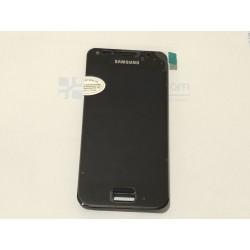 Ecrã completa com marco para Samsung Galaxy S Advance I9070 preta