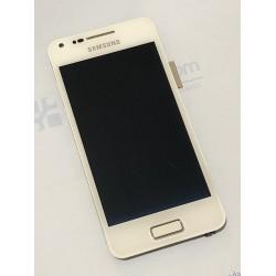 Ecrã completa com marco para Samsung Galaxy S Advance I9070 branca