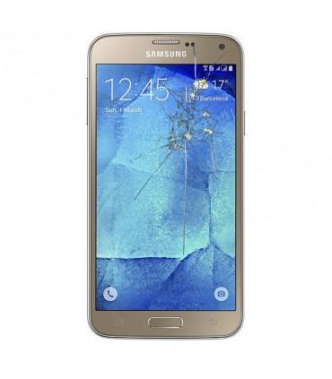 Reparaçao Ecrã Original Samsung S5 SM-G900F DOURADA