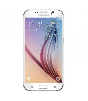 Reparacion pantalla Original Samsung Samsung S6 G920F BLANCA