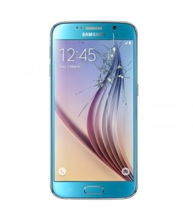 Reparaçao Ecrã Original Samsung Samsung S6 G920F AZUL CLARO