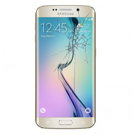 Reparacion pantalla Original Samsung S6 EDGE G925F DORADA