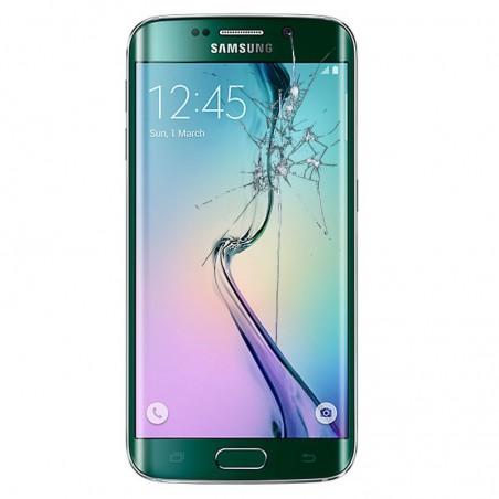 Reparacion pantalla Original Samsung S6 EDGE G925F VERde