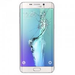Reparaçao Ecrã Original Samsung S6 EDGE G925F BLANCA