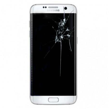 Reparacion pantalla original completa Samsung S7 edge G935 BLANCA