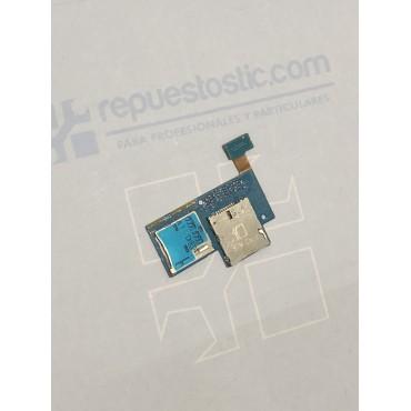 Flex con lector de tarjetas SIM y microSD Samsung Galaxy Express, I8730