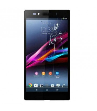 Reparacion pantalla Original Sony EXperia Z ULTRA XL39H negra
