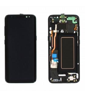 Pantalla LCD Display , Tactil con Marco Original para Samsung Galaxy S7 Edge SM-G935F - Oro