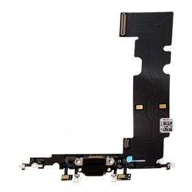 flex con conector de carga, micrófono iPhone 8 Plus Negro