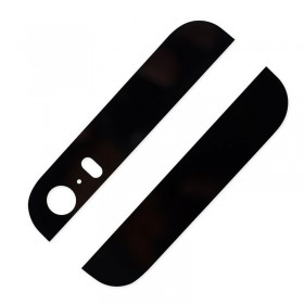 Cubierta cristal tapa trasera negra iPhone SE