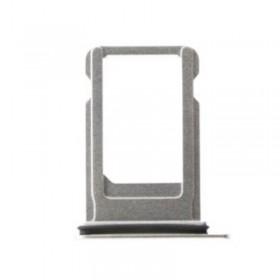 Bandeja SIM Plateada para iPhone 8, 8 Plus