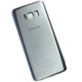 Tapa traseira para Samsung Galaxy S8 G950F em cor prata