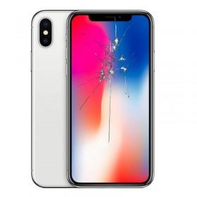 Reparación pantalla iphone X original desmontaje