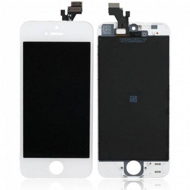 pantalla iphone 5 blanca
