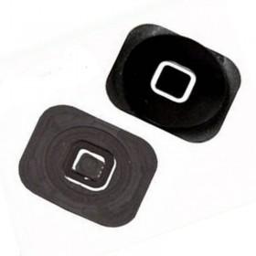 Botón de menú home negro para iphone 5