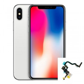 Reparación boton de encendido, micro y flash trasero iphone X