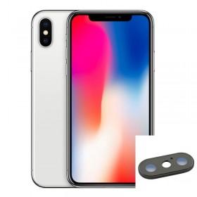 Reparación lente camara trasera iphone X