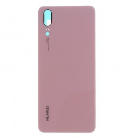 Tapa Traseira Huawei P20 em cor rosa