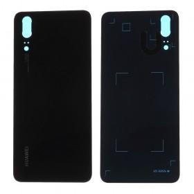 Tapa Traseira Huawei P20 em cor preto