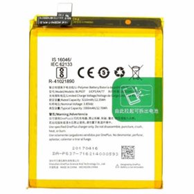 Batería BLP637 para OnePlus 5, A5000 / OnePlus 5T, A5010 - 3200mAh / 3.85V / 12.70WH / Li-Polymer