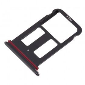 Bandeija Single SIM Huawei Mate 10 Pro Preta