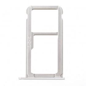 Bandeja DUAL SIM Micro SD Huawei P10 blanco