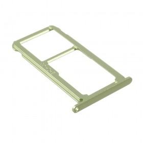 Bandeija DUAL SIM Micro SD Huawei P10 lite verde
