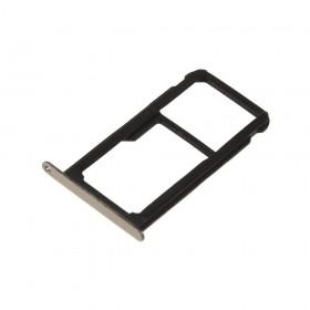 Bandeja DUAL SIM Micro SD Huawei P10 lite Oro