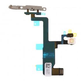Flex com botão de encendido, flash e microfóno para iPhone 6