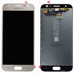 Ecrã Original Samsung J3 2017 J330F dourado