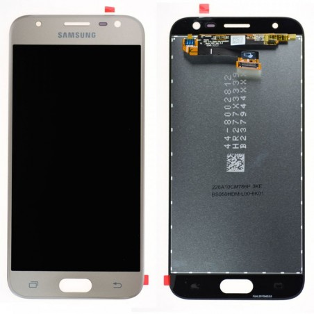 Pantalla original dorada para Samsung Galaxy J3 (2017) J330F