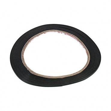 Cinta adhesiva doble cara, de espuma negra polietileno 5mm