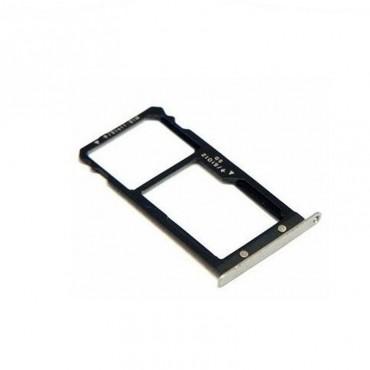 Bandeija DUAL SIM micro SD Huawei G8/ GX8/ G7 Plus Cinza