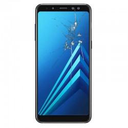 Reparacion pantalla Original Samsung A8 2018 A530F Negra